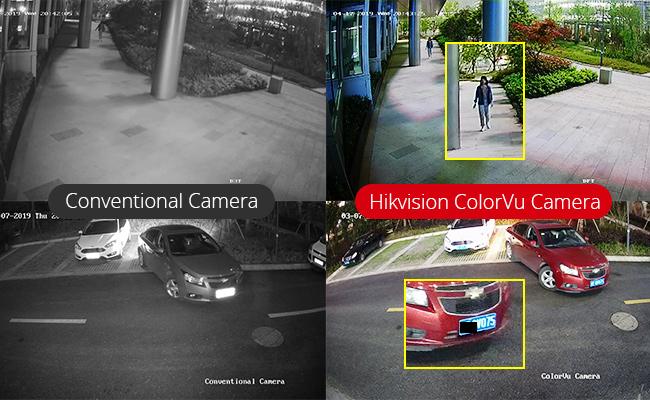 camera hikvision có màu ban đêm